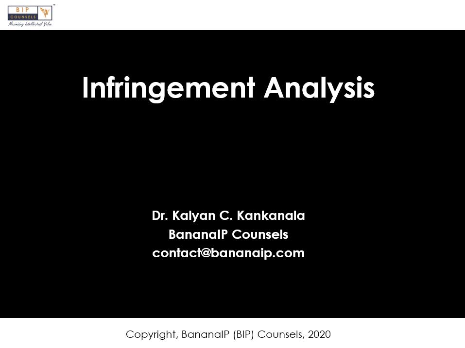 Patent Infringment